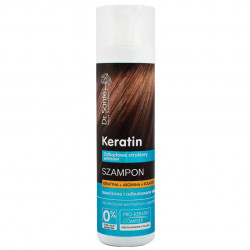 Реструктуриращ шампоан за коса с кератин, 250 мл
