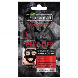 CARBO DETOX Почистваща маска с активен въглен, 2х6 гр