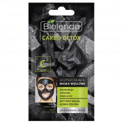CARBO DETOX Почистваща маска за мазна и комбиниран тип кожа с активен въглен, 8 гр