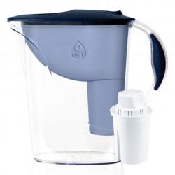 Кана за пречистване на вода Dafi Atria Classic, с филтър Classic и механичен брояч, синя, 1,2 л