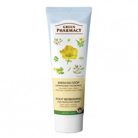 Крем за крака с дъбова кора и жълтениче – при лоша миризма и изпотяване, 75 мл + 25 мл бонус